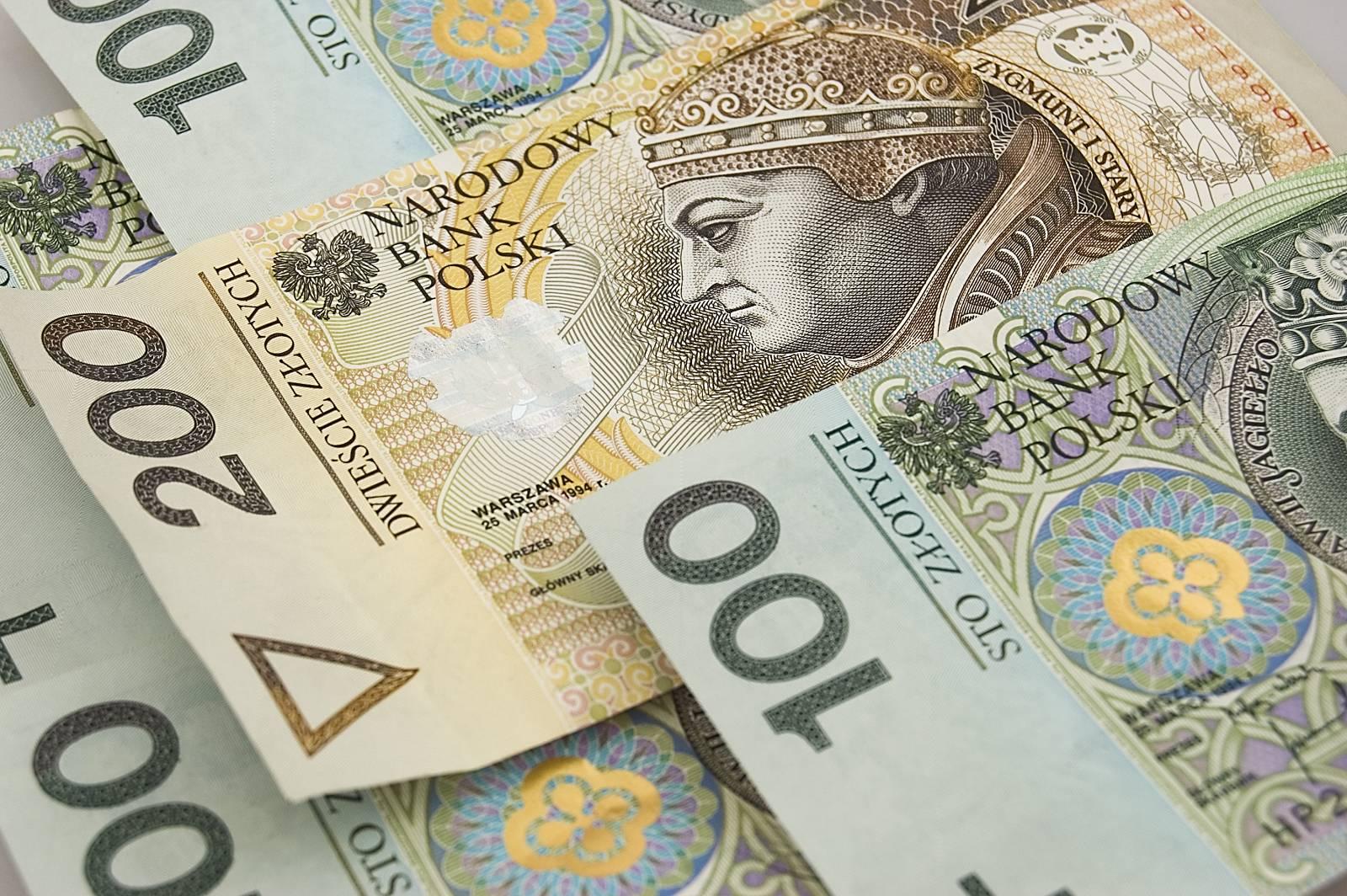 polski złoty pieniądze